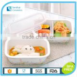 Ceramic airtight lunch box with lock