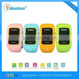 High quality multiple colors kids gsm gps mobile phone locator tracker tracking bracelet device
