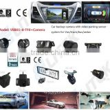 Car parking Sensor Type and DC 12V Voltage rear view camera for bmw,rearview mirror optional
