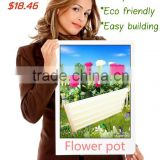 large metal flower pot garden planter vegetable planting raised garden bed flower growing bed