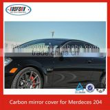 FOR 2010-12 MERCEDES W204 C63 SEDAN C250 C350 CARBON FIBER SIDE MIRROR COVER