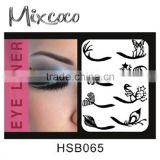 Wholesale private label liquid eyeliner/eyeliner stencil/eye liner pencil