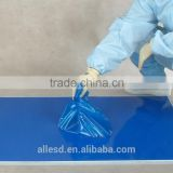 floor protection peelable clean room sticky mat