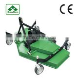 Tractor Mounted 3 point Finishing Mower ; Agriculture equipment lawn mower with pto shaft driven