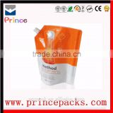 High Efficiency Affordable Custom Design Laundry Detergent Packaging Pouch / Detergent Powder Plastic Packing Bags