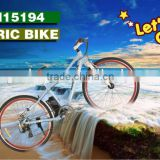 28 inch road E bike cycling electric bicycle 250W hub motor rear wheel