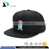 High quality 100% acrylic 5 panels patch flat brim plastic buckle custom men private label hat