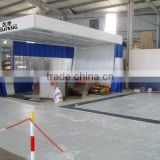JF used car polishing room /sand blasting booth /portable clean room ( CE certification 2 years warranty time)
