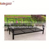 Luxury Modern Iron High Back Metal Furniture outdoor garden furniture best selling big lounge chaise chair
