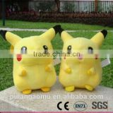 Cheap Cute High-quality Soft Plush Pokemon Keychains Stuffed Pikachu Animal Toy Doll for Wholesale