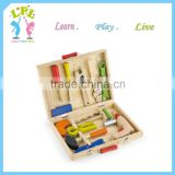 Different style tool kit wooden brain exercise educational toys and games kids