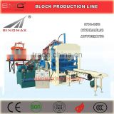 BT4-15C Hydraulic Automatic Concrete Block Brick Making Machine, Brick Moulding Machine, Concrete Block Production Line for sale