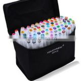 Double Tips Oil based permanent Touch Artist Markers of 240colours