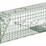 Alibaba online pvc coated metal wire animal trap cage for mouse,fox