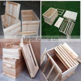 Beekeeping Equipment Solid Wood International Hive Box For Export 14 Frame Deep House 1 /2/3 Layer For