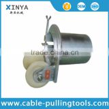 Cable installation tool cable nylon ground roller with bell mouth
