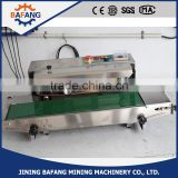 Horizontal Continuous Plastic Aluminum Foil Bag Heat Sealing Machine Band Sealer Machine