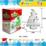 factory DIY Coloring Christmas Tree Candleholder