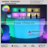 led bar table, led reception desk counter for marquee events and party