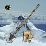 Newest Chinese Patented Outdoor equipment Camping&Hiking Stainless Folding Survival Shovel as hoe,axe,saw