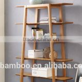 100% Solid Bamboo Modern simplism of style Currant Bookshelf