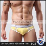 MGOO Top Quality Thongs For Man 90 Cotton 10 Spandex Boxer Brief European Boys Underwear MB027