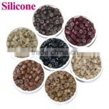 Wholesale Aluminum Silicone Micro Ring,High Quality Soft Silicone Beads Wholesale