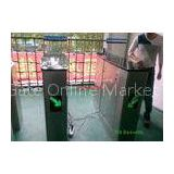 Shopping Mall Luxury Speed Gates Turnstile Human Voice Warning The Right Passing