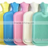 Durable 1000ml 2000ml Explosion-proof Rubber Hot Water Bottle Bag WIth Eur Standard