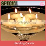 Whilte ball Decorative scented floating candle