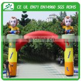 Cheap inflatable arch for sale/inflatable arch rental/outdoor advertising inflatable arches