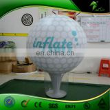 Customized Giant Inflatable Golf Ball Model , Advertising Inflatable Replica Golf Sport Balloon , Inflatable Helium Golf