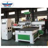Multi spindles cabinet  door carving CNC router ,ATC CNC Router 1325 for wardrobe with Syntec control system