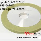 1A1 vitrified bond diamond grinding wheels  Alisa@moresuperhard.com