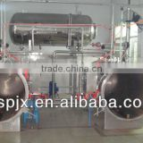 2+1 stainless steel full-automatic hot water circulating immersion retort food sterilization equipment