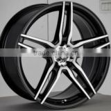 shipping from china 5x120 tyres rim fit for BMW replica wheels
