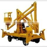 JINCHUAN Factory Wanted Trailer Mounted Towable Spider Boom Lift/Arm Lift/Sky Lift Table With Diesel Engine