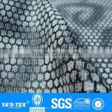 2016 new design textile printing honeycomb pattern polyester elastane outdoor fabric