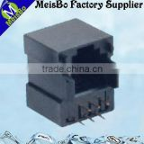 Six pin female pcb telephone jack
