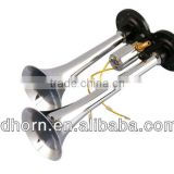 Wenzhou Ruian manufacture superior quality power car horn,two tone truck horn, air intake pipe