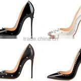 Top Brand Name High Heels for Women Stiletto Pumps, Sexy Spikes Dress Shoes Pointed Toe Women Stiletto Heels