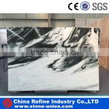 China panda white marble price for flooring tiles and wall tiles design ,panda white marble with black vein