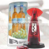 S/S+PC+ABS+PS 9.8*6.5*19 Red wine accessories wine opener /cork screw/premium wine opener