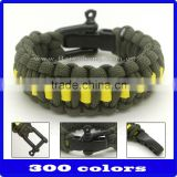 wholesale the newest high quality paracord bracelet