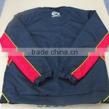 custom blue and red tracksuit shirt