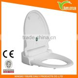 Automatic toilet seat 5011 White Elongated Automatic Toilet Seat