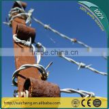 cheap barbed wire price/barbed wire price per roll/galvanized barbed wire weight per meter(Guangzhou Factory)