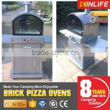 modular 16 inch pizza oven with stone floor baking