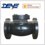 Light Weight Metal Seat 125PSI ANSI Flanged Ends Swing Check Valve Air Gas Water Hydraulic