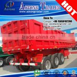 China Factory direct Price 2/3 Axles 30-80 Tons Used Truck semi Trailer Price rear Hydraulic Dump Trailer without engine                                                                         Quality Choice